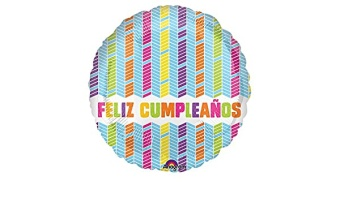 Birthday Mylar - Spanish