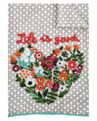 Karma Living Tea Towel Asstd. Styles