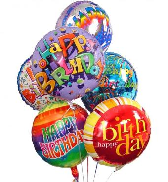 Birthday Mylar Balloon